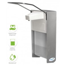 Elbow Controlled Disinfectant Dispenser. 1000ml Volume. Wall type.