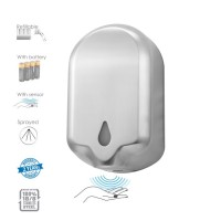 Hygiene Market Sensor Photocell, Refillable, Stainless Disinfectant